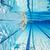 kadın · yüzme · sualtı · havuz · gülen · genç - stok fotoğraf © cookelma
