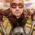 смешные · мужчин · Солнцезащитные · очки · закат · свет · лет - Сток-фото © cookelma