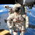 internationale · ruimte · station · astronaut · de · kosmische · ruimte · aarde - stockfoto © cookelma