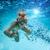 sualtı · deniz · kabarcıklar · köpük · güneş · ışığı · rays - stok fotoğraf © cookelma