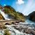 滝 · ノルウェー · 双子 · 森林 · 自然 · 山 - ストックフォト © cookelma