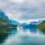 cruzeiro · Noruega · navio · de · cruzeiro · céu · primavera · floresta - foto stock © cookelma