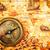 vintage · brújula · mentiras · antigua · mapa · del · mundo · naturaleza · muerta - foto stock © cookelma