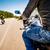 widoku · jazdy · motocykla · asfalt · drogowego - zdjęcia stock © cookelma