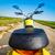 motocicleta · pôr · do · sol · estrada · esportes · rua · fundo - foto stock © cookelma