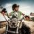 young biker stock photo © cookelma