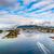 verão · paisagem · Noruega · ver · montanha · norueguês - foto stock © cookelma