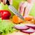 kezek · vág · zöldségek · sárgarépa · mögött · friss · zöldségek - stock fotó © cookelma
