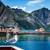 frazione · Norvegia · montagna · cielo · albero · costruzione - foto d'archivio © cookelma