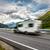 caravana · carro · rodovia · estrada · paisagem · verão - foto stock © cookelma