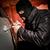 ladrón · ladrón · máscara · coche · hombres · urbanas - foto stock © cookelma