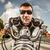 drôle · lunettes · de · soleil · course · montagne - photo stock © cookelma