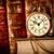 fila · vecchio · libri · shelf · accoppiamento - foto d'archivio © cookelma