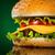 smaczny · apetyczny · hamburger · żółty · bar · ser - zdjęcia stock © cookelma