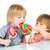 baby · eten · lolly · geïsoleerd · witte · hand - stockfoto © cookelma