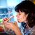 美しい · 冷蔵庫 · 画像 · 白 · 黒 · パス - ストックフォト © cookelma