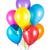 balões · hélio · diferente · formas · aniversário · laranja - foto stock © cookelma