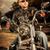 motoros · motorkerékpár · férfi · visel · bőrdzseki · napszemüveg - stock fotó © cookelma