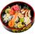 picante · sushi · alga · branco · prato · fundo - foto stock © cookelma