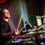 man · spelen · drums · concert · muziek · studio - stockfoto © cookelma