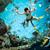 snorkeler underwater stock photo © cookelma