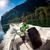 пляж · небе · лодка · острове · отпуск - Сток-фото © cookelma