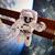 астронавт · космическое · пространство · фон · Элементы · изображение · небе - Сток-фото © cookelma