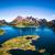 архипелаг · антенна · фотографии · Норвегия · декораций - Сток-фото © cookelma