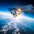 űrhajó · Föld · pálya · 3d · render · égbolt · naplemente - stock fotó © cookelma