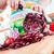 handen · Rood · kool · achter · verse · groenten - stockfoto © cookelma