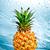 ананаса · продовольствие · таблице · фон · желтый · свежие - Сток-фото © cookelma