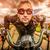 motoros · versenyzés · út · napszemüveg · bőrdzseki · halszem - stock fotó © cookelma
