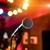 mikrofon · audytorium · szkoły · biznesmen · edukacji · Język - zdjęcia stock © cookelma