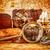 vintage · lupa · mentiras · antigua · mapa · del · mundo · naturaleza · muerta - foto stock © cookelma