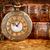 velho · livros · vintage · relógio · de · bolso · antigo · livro - foto stock © cookelma