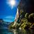 hét · nővérek · sziklák · dél · Sussex · égbolt - stock fotó © cookelma