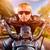homem · sessão · motocicleta · ao · ar · livre · esportes · bicicleta - foto stock © cookelma