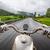 девушки · мнение · мотоцикл · дождь · женщину - Сток-фото © cookelma