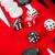 kırmızı · tahta · zarlar · eğlence · başarı · oynamak - stok fotoğraf © cookelma