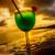azul · coquetel · tropical · mar · pôr · do · sol · martini - foto stock © cookelma