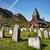 kerk · oude · kerkhof · gras · god · toren - stockfoto © cookelma