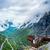 Ansicht · Punkt · Beobachtung · Deck · Norwegen · schönen - stock foto © cookelma
