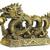 бронзовый · дракон · 3D · изображение · изолированный · белый - Сток-фото © coprid