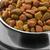 díszállat · étel · közelkép · fém · tál · macska - stock fotó © coprid