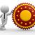 3d · pessoas · homem · pessoa · garantir · selar · assinar - foto stock © coramax