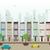 városkép · illusztráció · égbolt · ház · fa · épület - stock fotó © coroichi