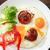 ovo · frito · prato · amarelo · comida · café · da · manhã · alimentação · saudável - foto stock © cosma