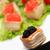 черный · икра · сэндвич · продовольствие · морем · ресторан - Сток-фото © cosma