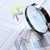 magnifying glass and chart stock photo © cosma