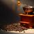 kahve · öğütücü · bağbozumu · yalıtılmış · beyaz - stok fotoğraf © cosma